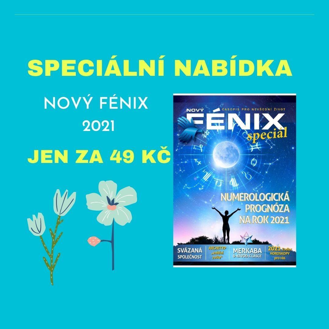 Nový Fénix | V roce 2021 časopis Nový Fénix přechází na webový portál.
